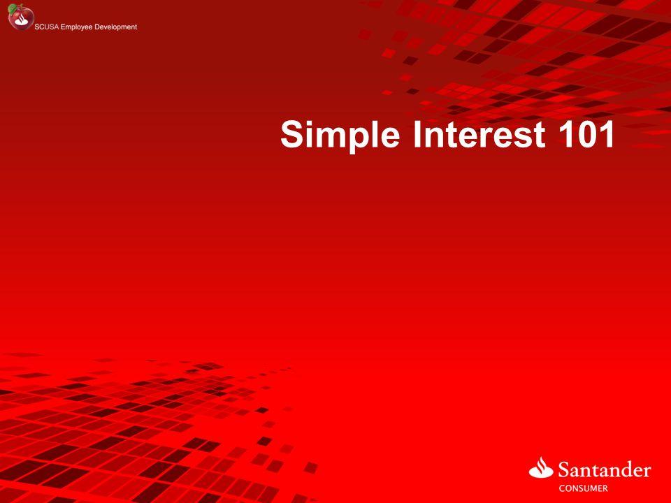 Simple Interest 101