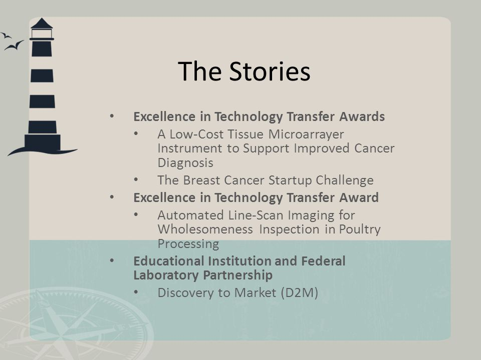 The Stories Excellence in Technology Transfer Awards A Low-Cost Tissue Microarrayer Instrument to Support Improved Cancer Diagnosis The Breast Cancer