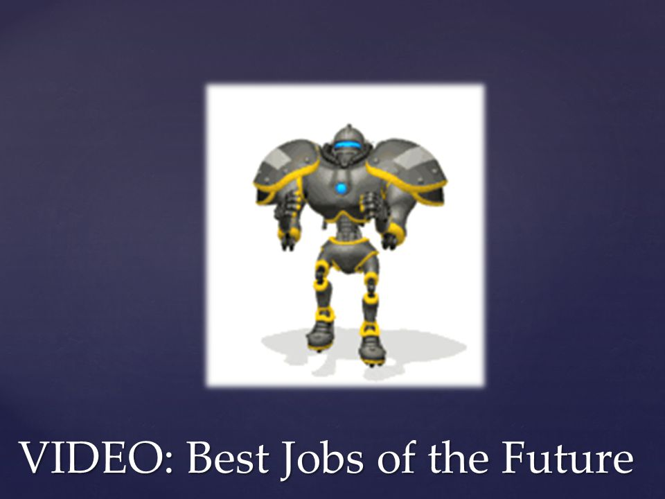 VIDEO: Best Jobs of the Future