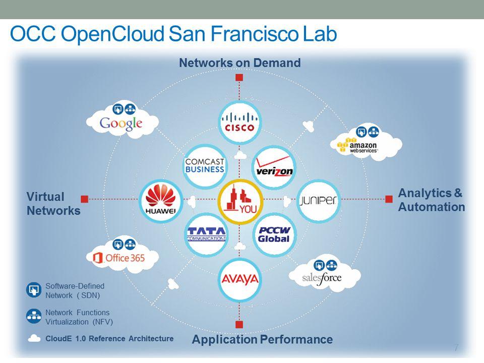 10 OCC OpenCloud San Francisco Lab