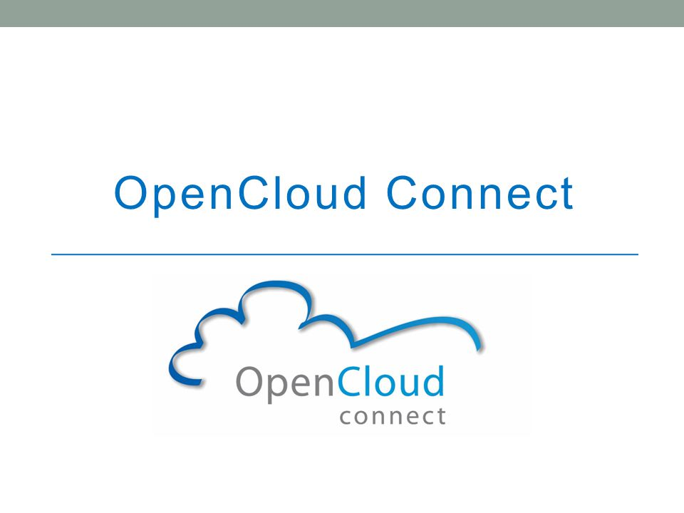 OpenCloud Connect