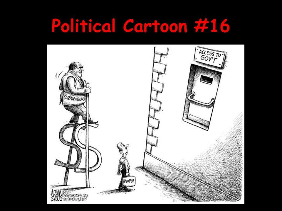 Political Cartoon #16