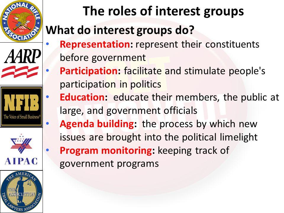 How do Interest Groups achieve their goals.