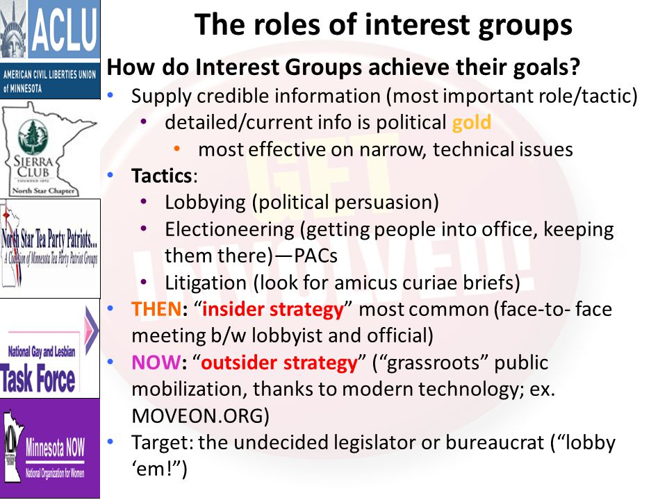 What makes an interest group successful.