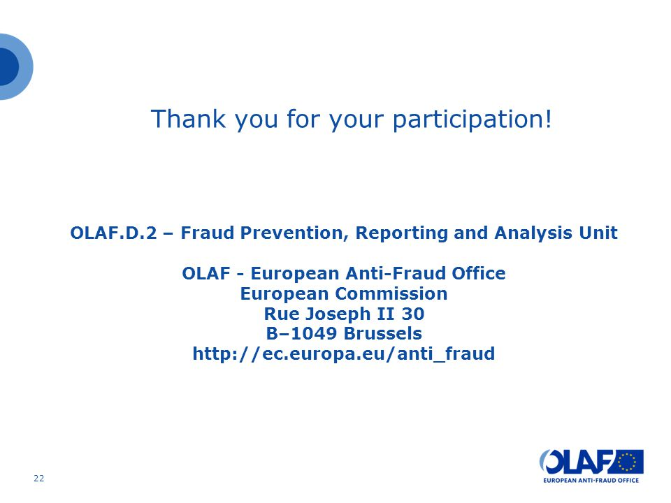 Thank you for your participation.