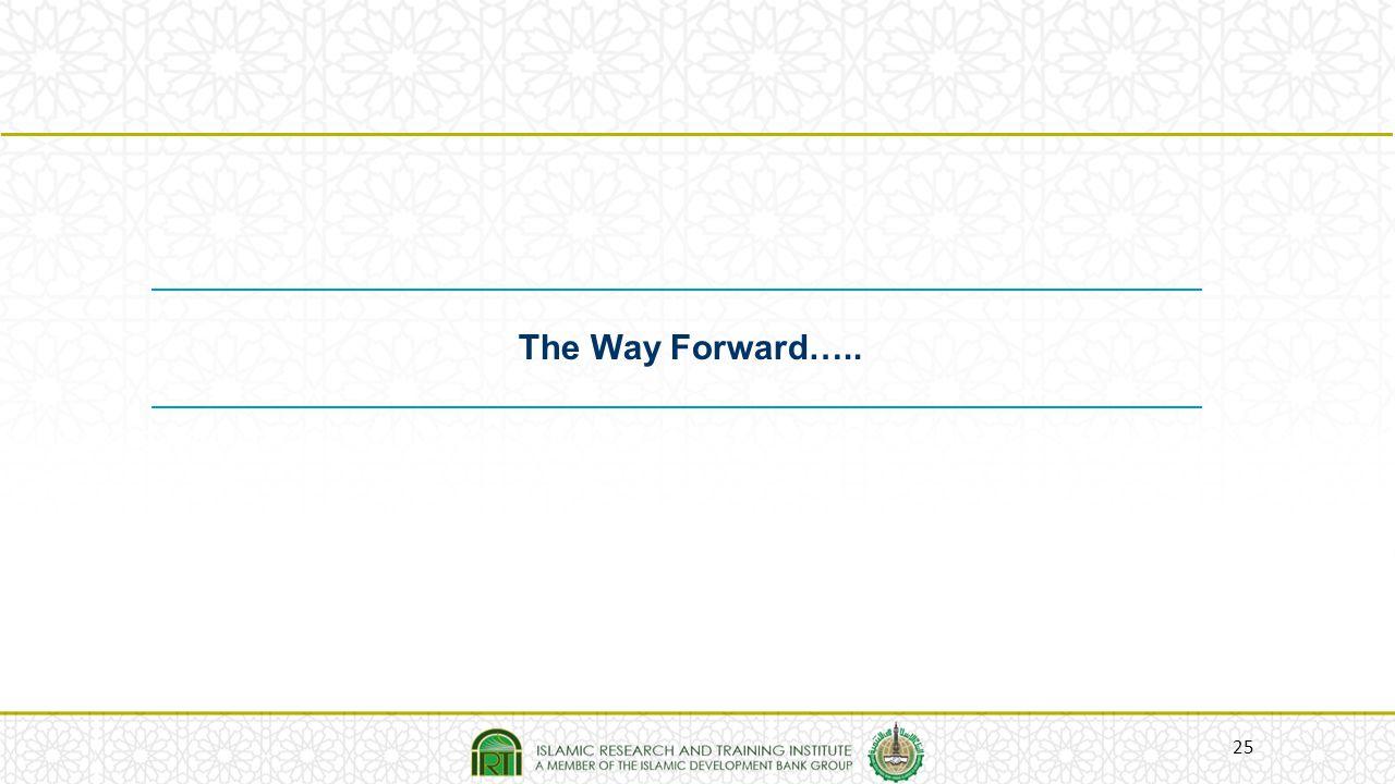 25 The Way Forward…..