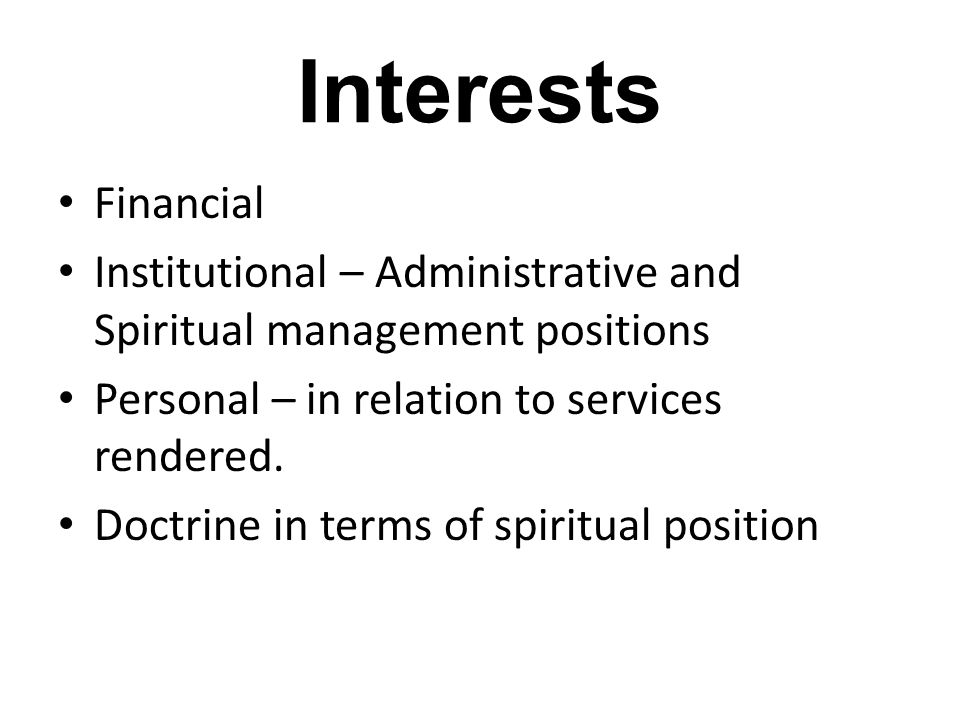 Current Proposal for GBC D25 – Conflict of Interest Policy Proposal Whereas, when devotees are placed in positions of trust within ISKCON, with decision-making authority, they have an obligation to always make such decisions with full consideration of the best interests of the Society.