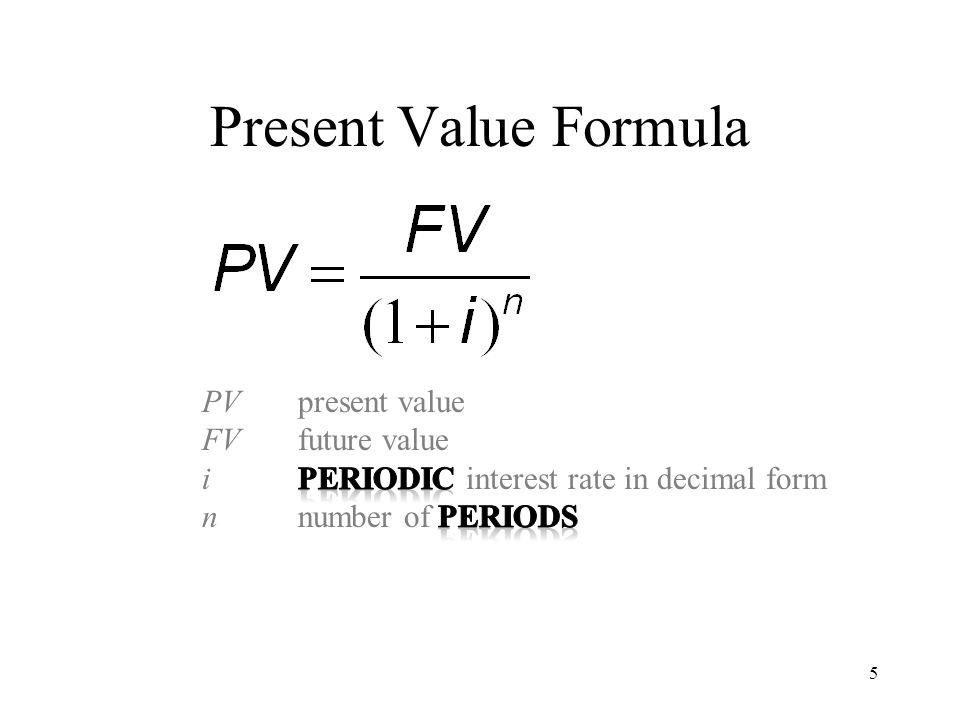 Future Value Formula 6