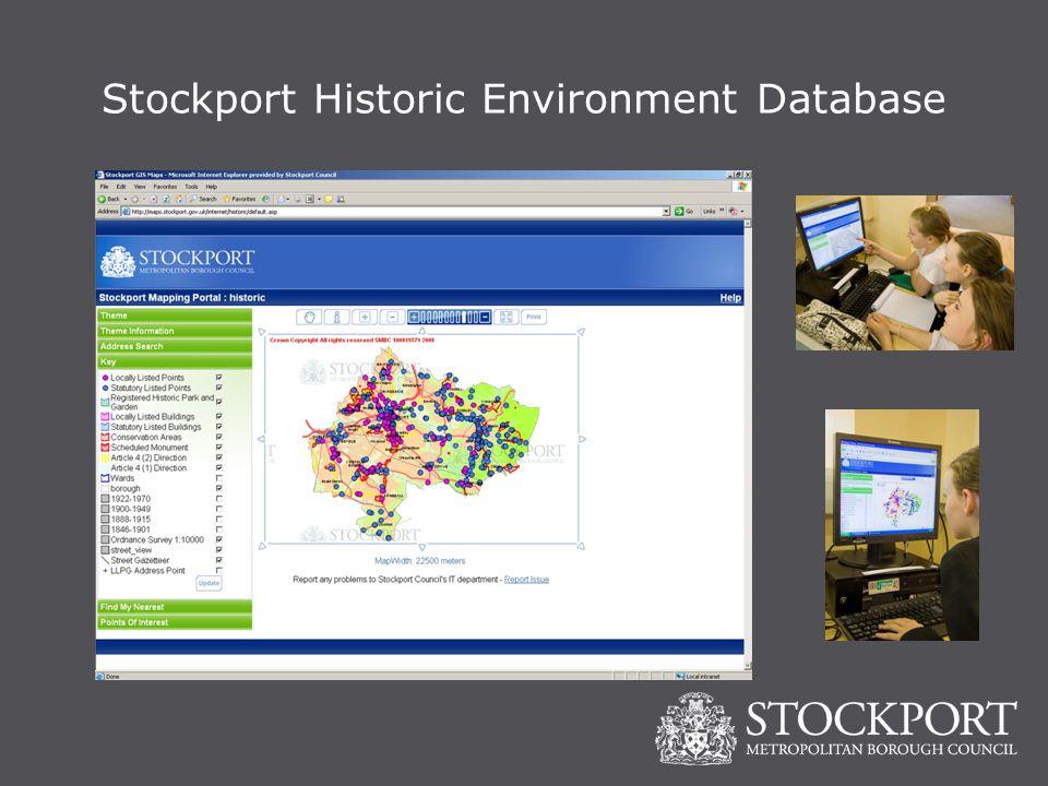 Stockport Historic Environment Database