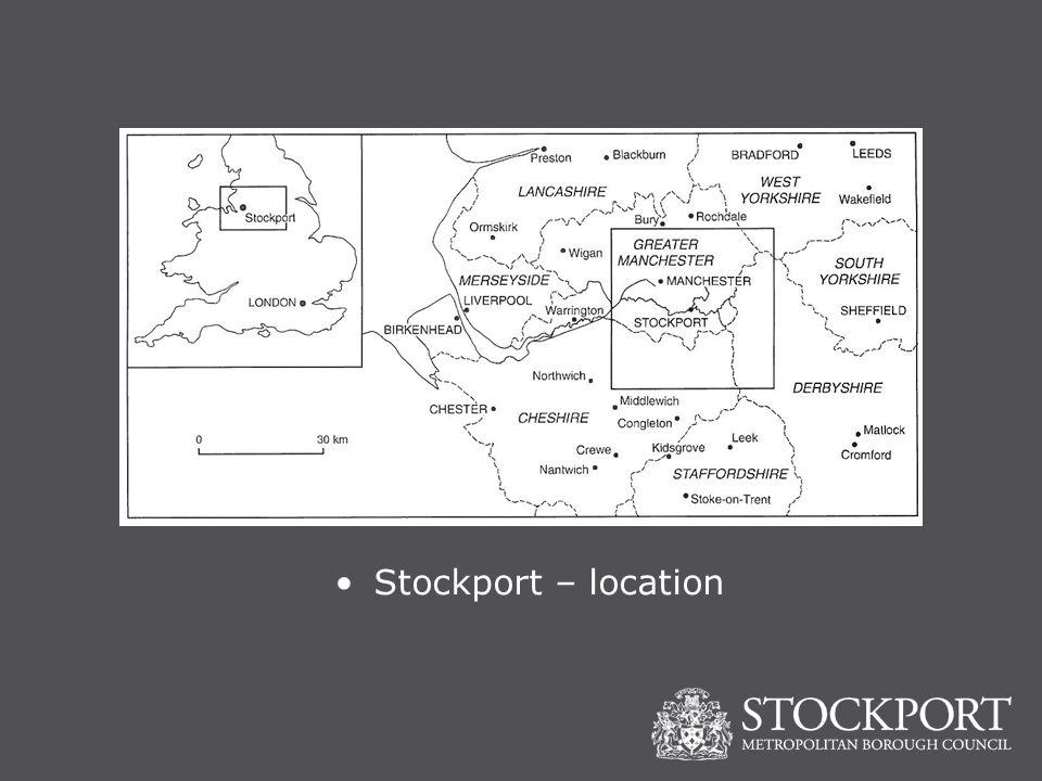 Stockport – location