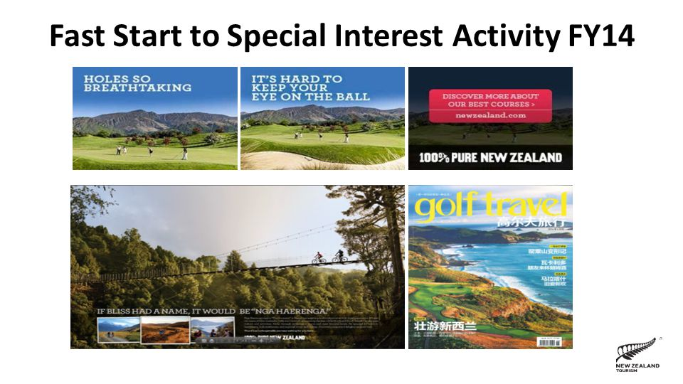 Fast Start to Special Interest Activity FY14