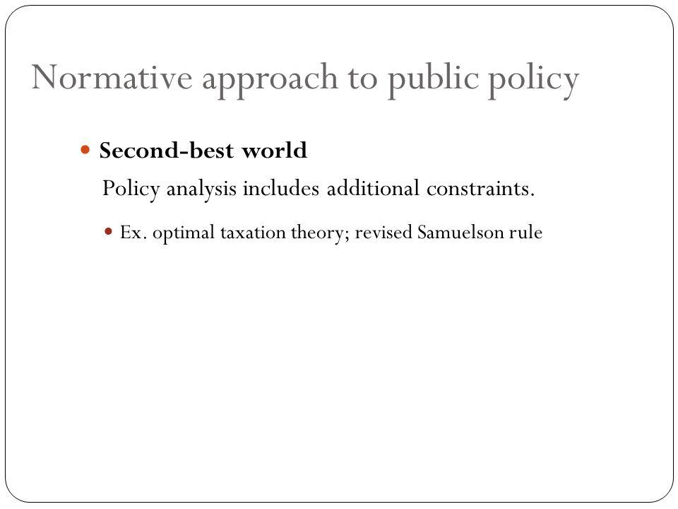 Critics of Becker's Model The regulator does not exist.