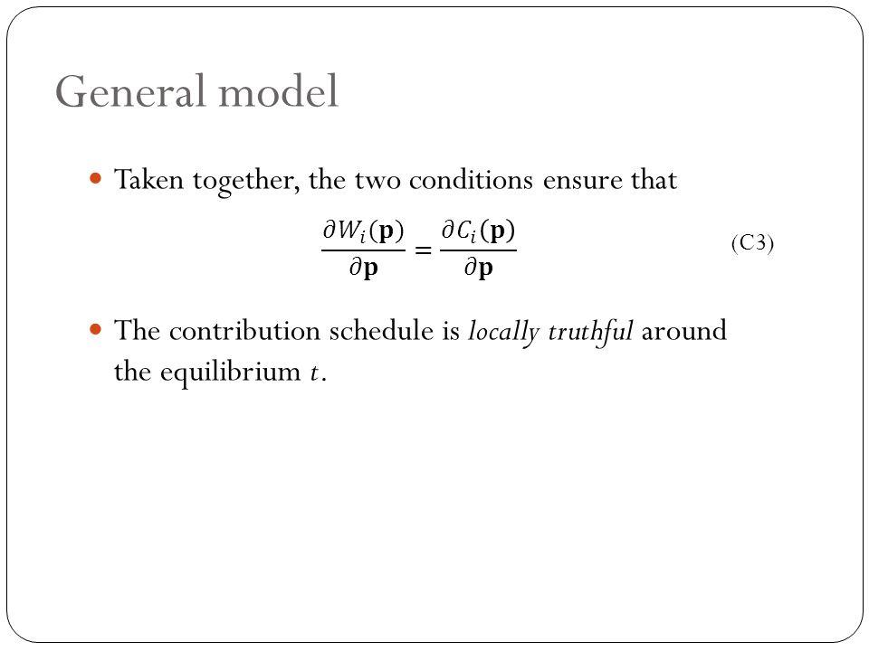 General model (C3)