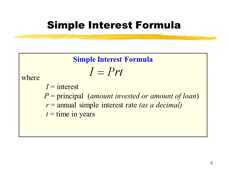 7 An Example Example 4: Find the interest on a boat loan of $5,000 at 16% for 8 months.