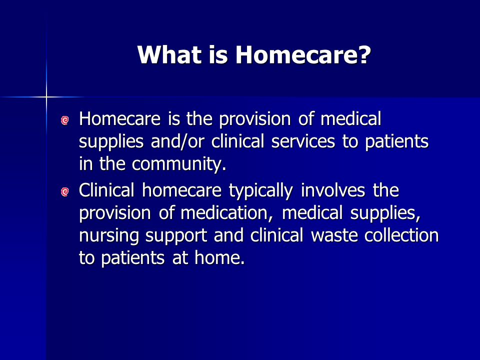 National Medicines Homecare Committee – Aims and Objectives 1.