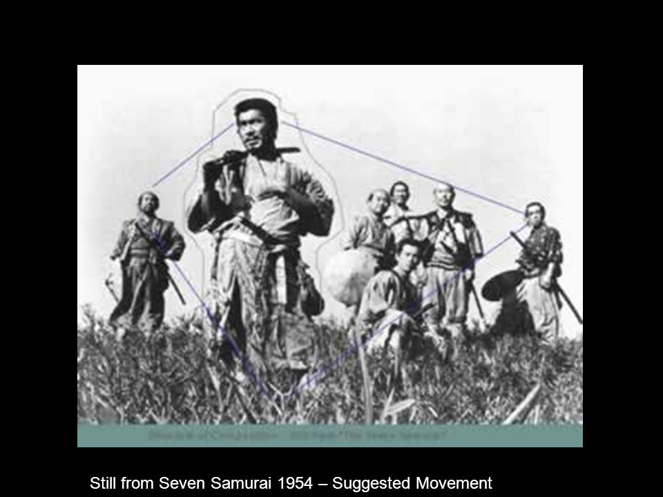 newMediaImages Still from Seven Samurai 1954 – Suggested Movement
