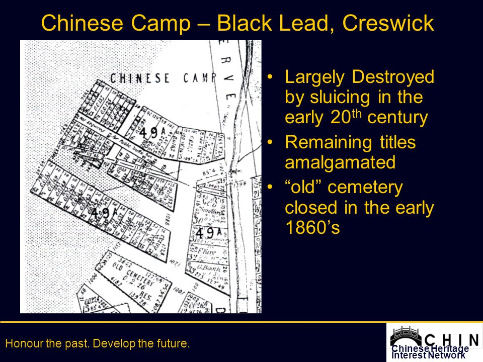 Chinese Heritage Interest Network Honour the past. Develop the future.