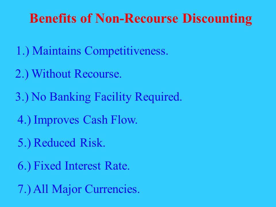 7.) All Major Currencies. 1.) Maintains Competitiveness.