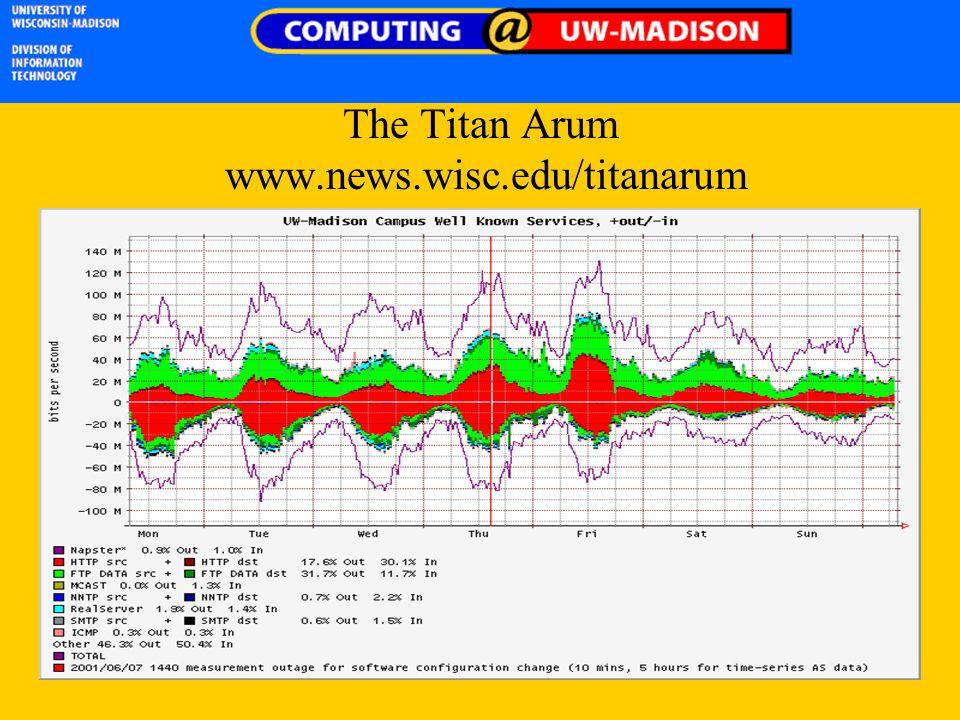 The Titan Arum www.news.wisc.edu/titanarum