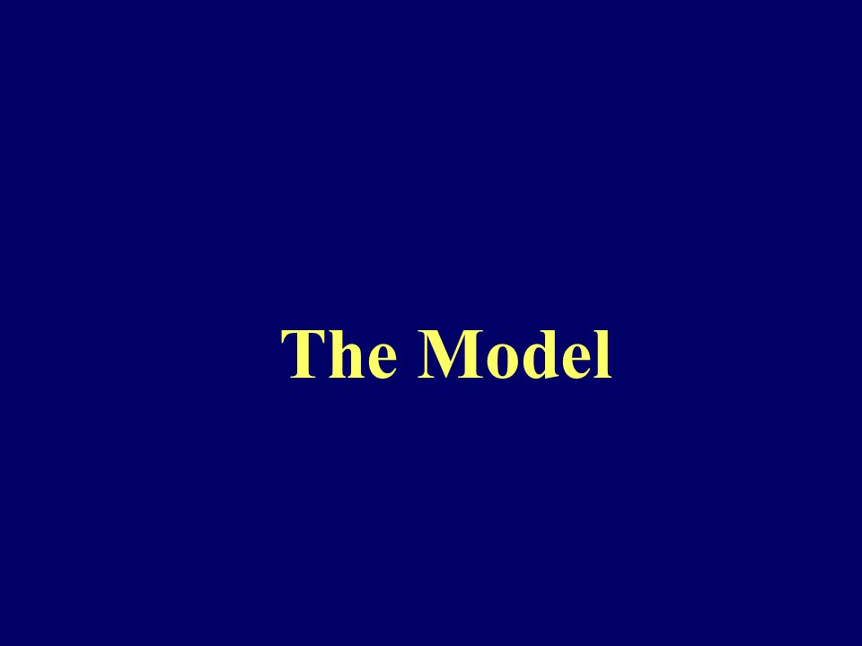 Basic Facts of the Model  Consistent with Rational Expectations Hypothesis REH.