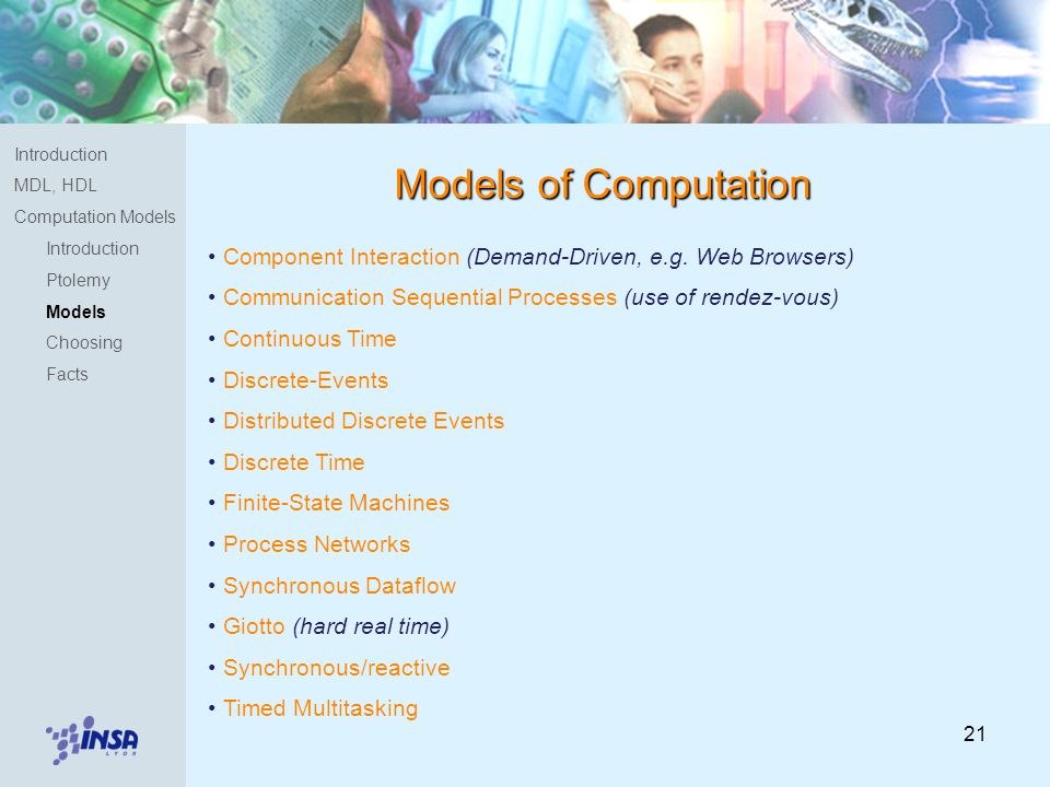21 Component Interaction (Demand-Driven, e.g.