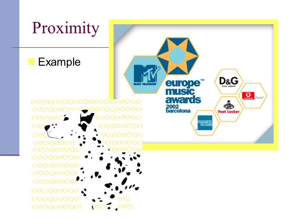 Proximity Example