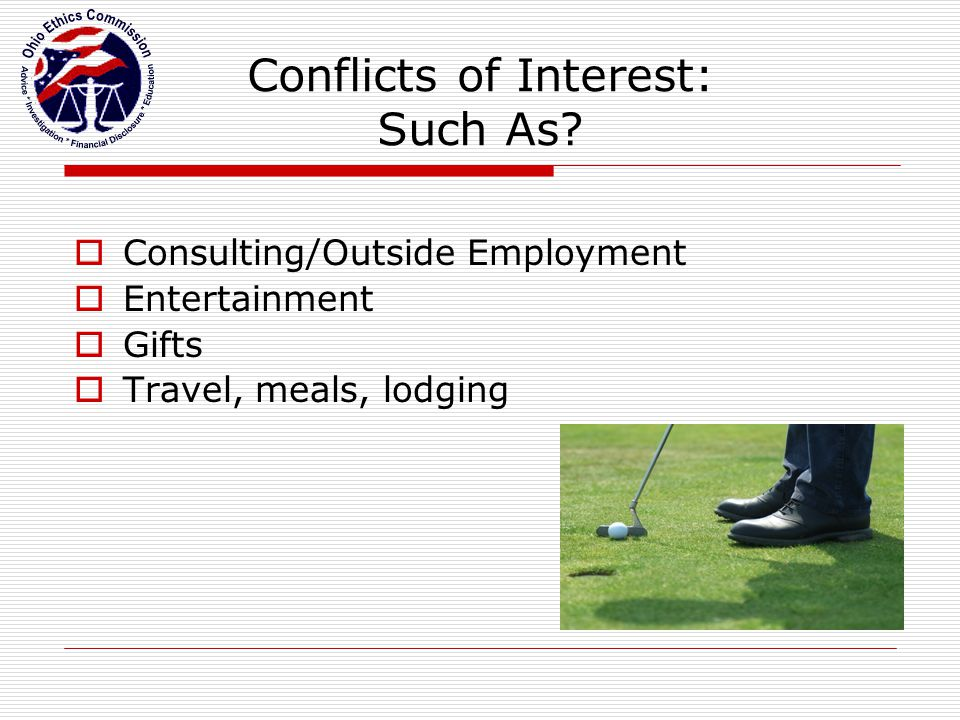Conflicts of Interest: Such As.