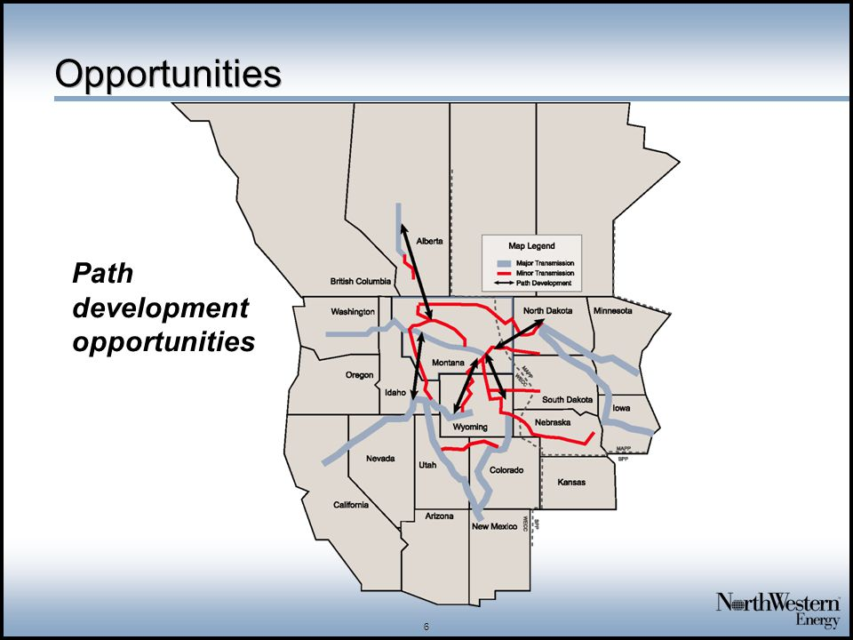 6 Opportunities Path development opportunities