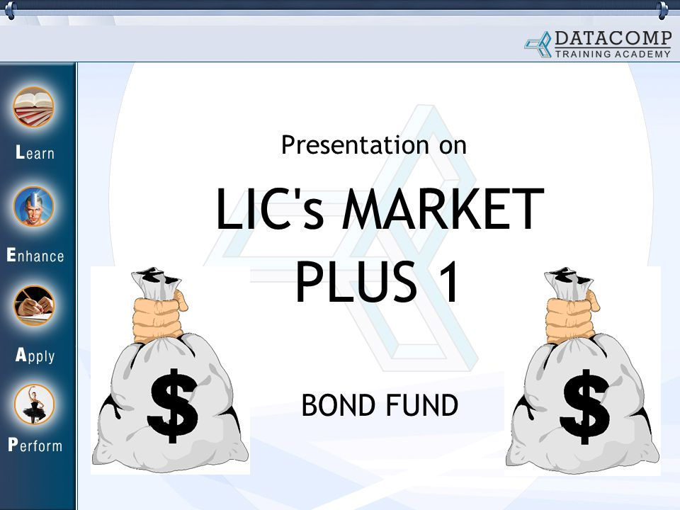 LIC s MARKET PLUS 1 BOND FUND Presentation on