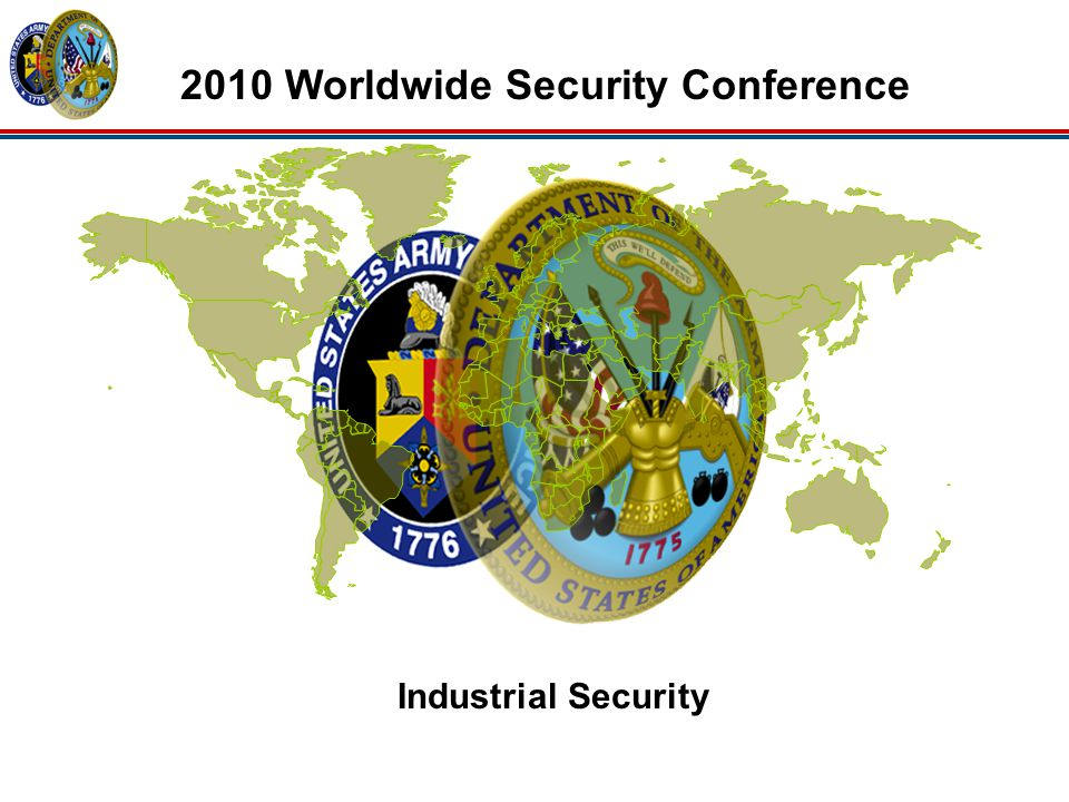 Industrial Security 2010 Worldwide Security Conference