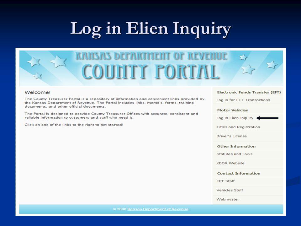 Title Inquiry