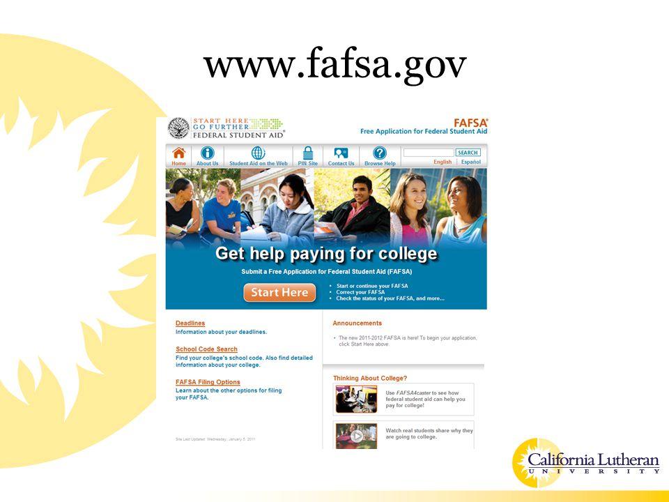 www.fafsa.gov