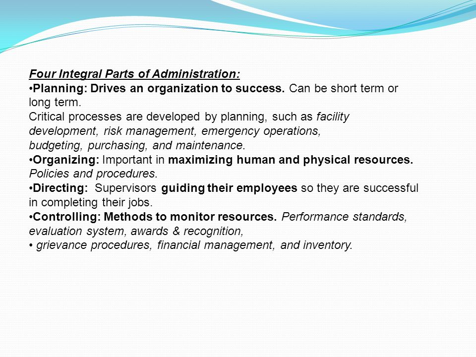 ASSESSMENT PLANNING DESIGN CONSTRUCTION MANAGEMENT CHAPTER 3 LEARNING THE BASICS OF RECREATION FACILITIES MANAGEMENT PRACTICES IN ALL THEIR DIFFERENT FORMS ARE COMPRISED OF A FOUNDATION OF COMMON SENSE.