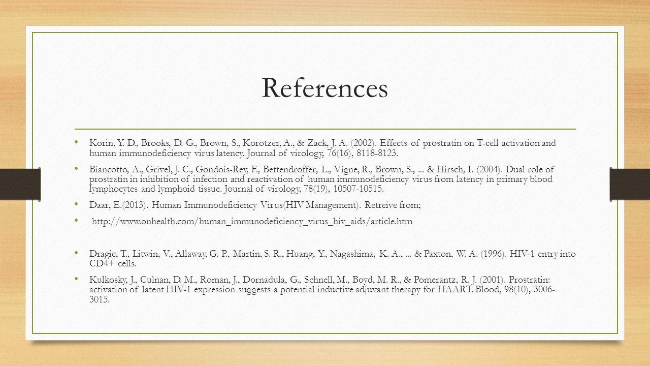 References Korin, Y. D., Brooks, D. G., Brown, S., Korotzer, A., & Zack, J.