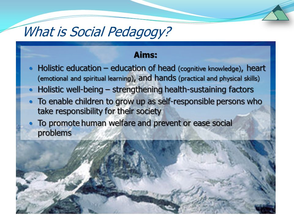 What is Social Pedagogy.