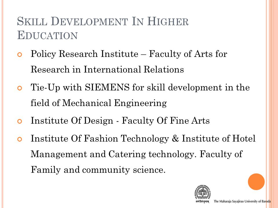 C ENTRE F OR L IFELONG L EARNING & E XTENSION Ancient Indian Studies (Ank Viswa, Manuscriptology, Palmistry and Numerology) Personal Grooming (Manners & Etiquette) Hotel / Cookery (Food Safety & Hygiene, Hotel Management & Catering Services) Management Skills Development (Insurance and Fund Management, Marketing Management, Retail Management)