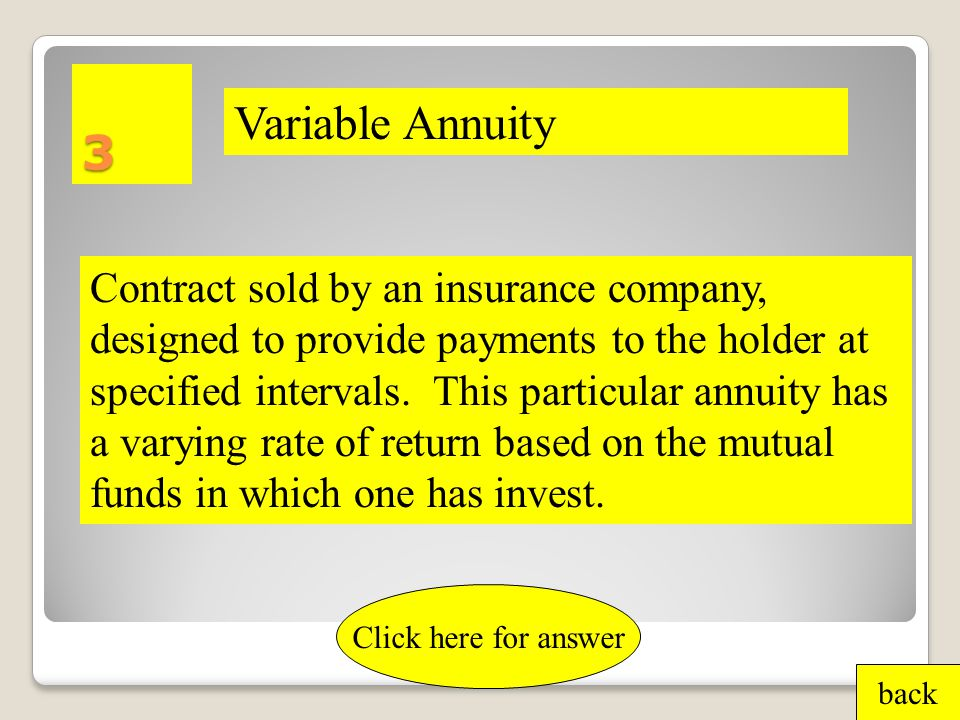 2 Piece of ownership in a company or mutual fund. back Click here for answer Share