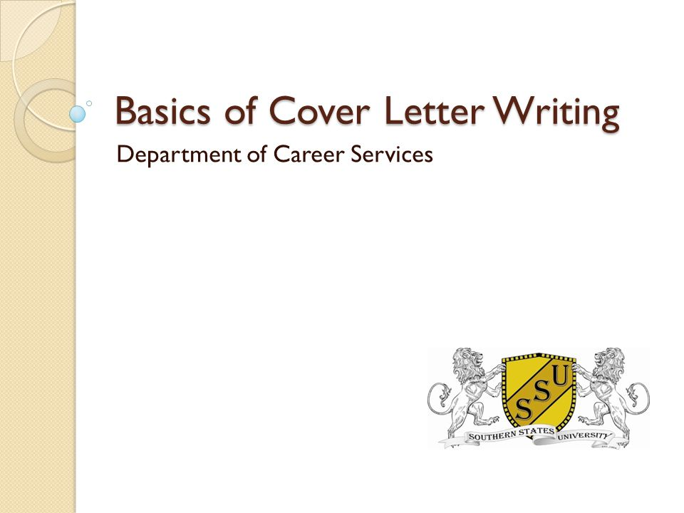 Overview What is a cover letter and its purpose What is AIDA.