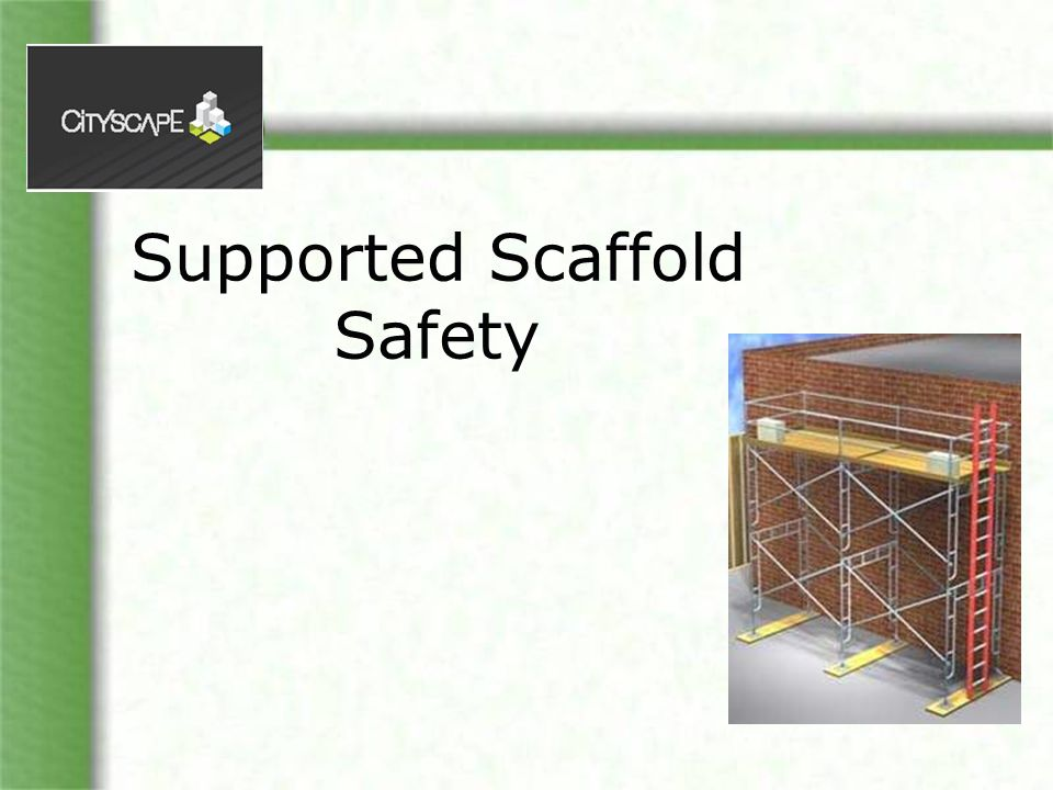 Objectives Familiarize yourself with: Duties of a Competent person Basic scaffold requirements NOTE: Links to the rule (WAC 296-874) and other resources are on a slide at the end of this presentation