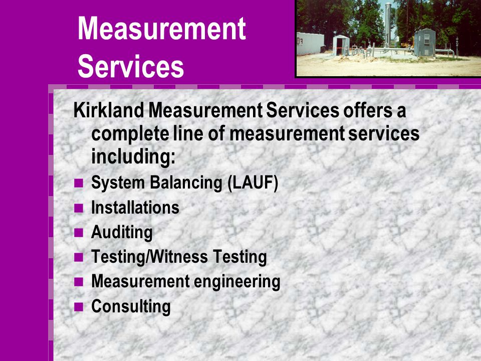 Other KES Advantages Kirkland measurement services Kirkland infrared services