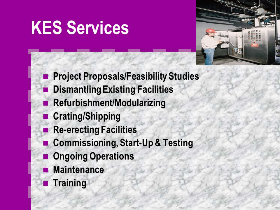 Who We Are Kirkland Energy Services, Inc., Has been formed by professionals from operating, engineering, construction and service companies throughout the energy industry.