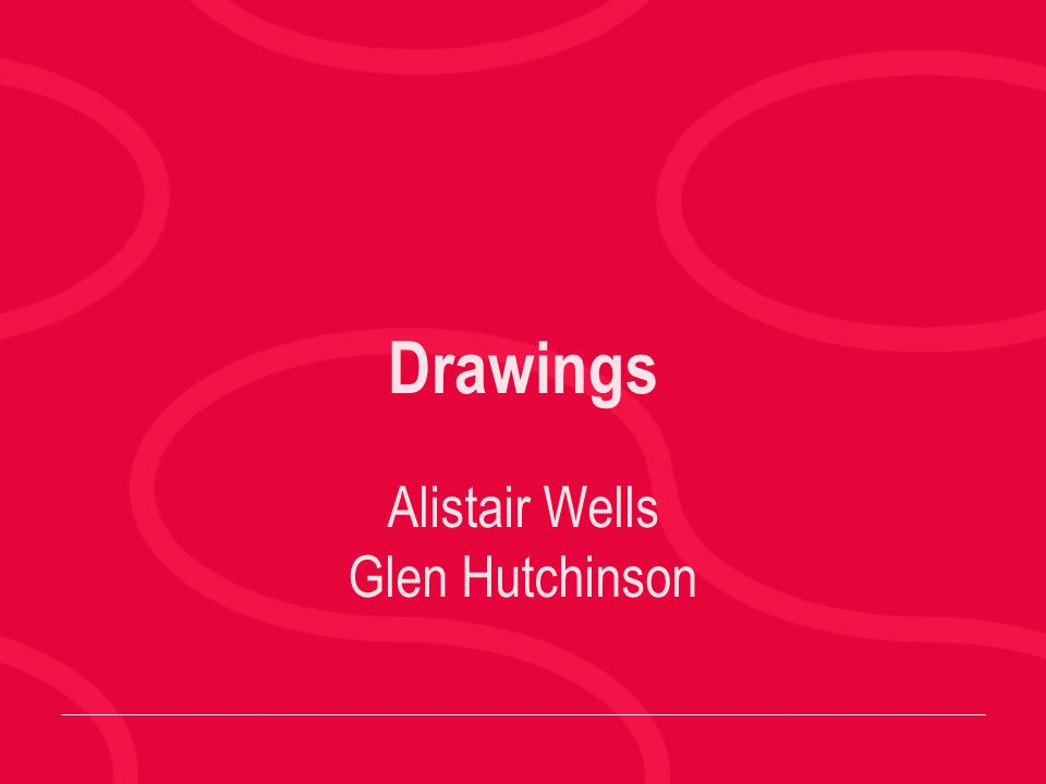 Alistair Wells Glen Hutchinson Drawings
