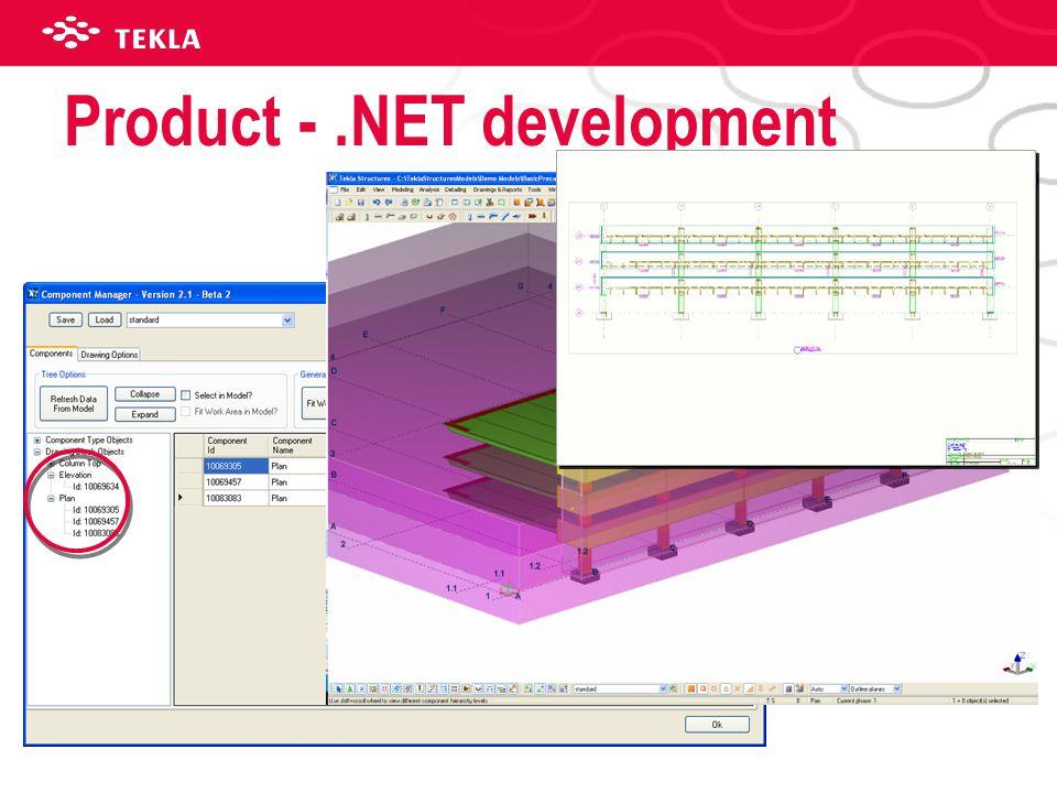 Product -.NET development