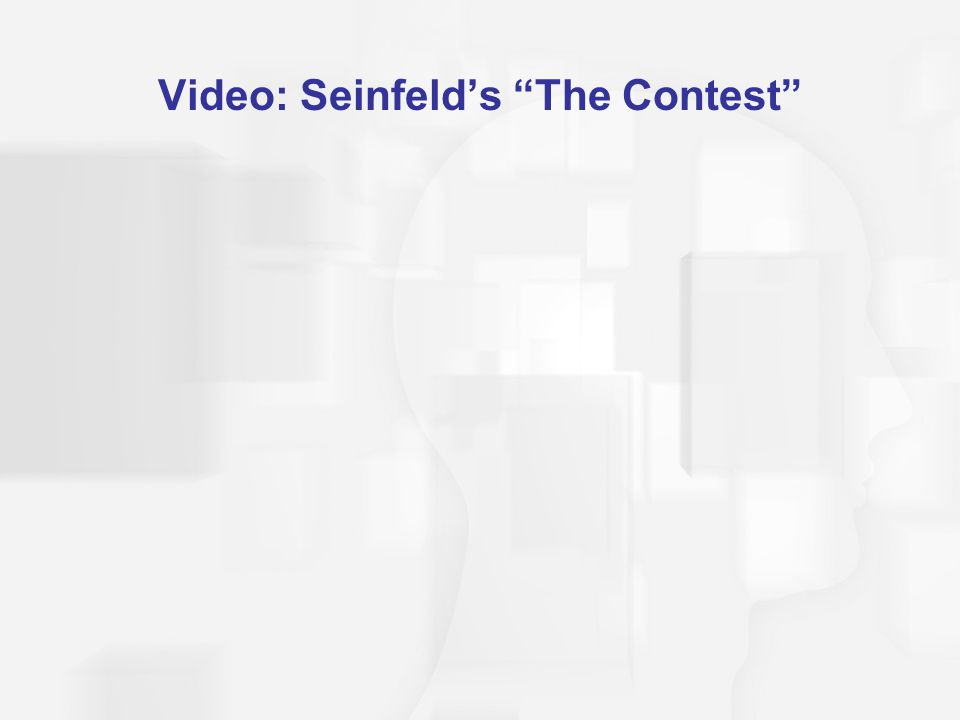 "Video: Seinfeld's ""The Contest"""