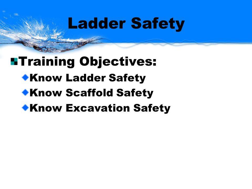 Ladder Safety OSHA 29 CFR 1910.25-27 Ladder Selection Ladder Inspection Ladder Set-up Ladders Safety Ladder Maintenance and Storage