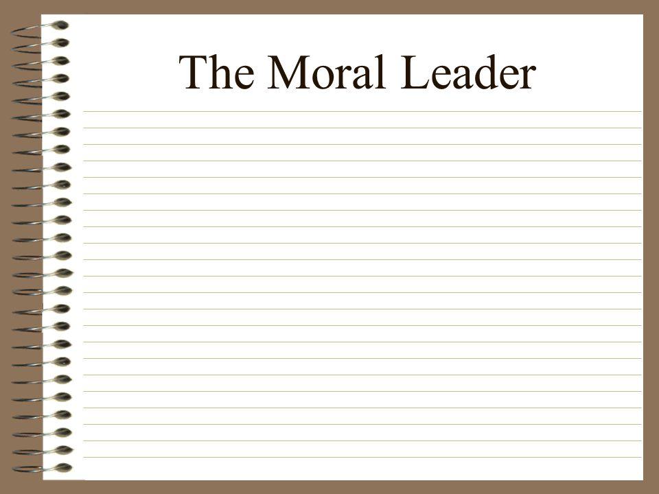 The Moral Leader