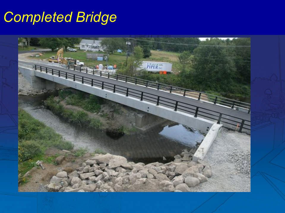 Completed Bridge