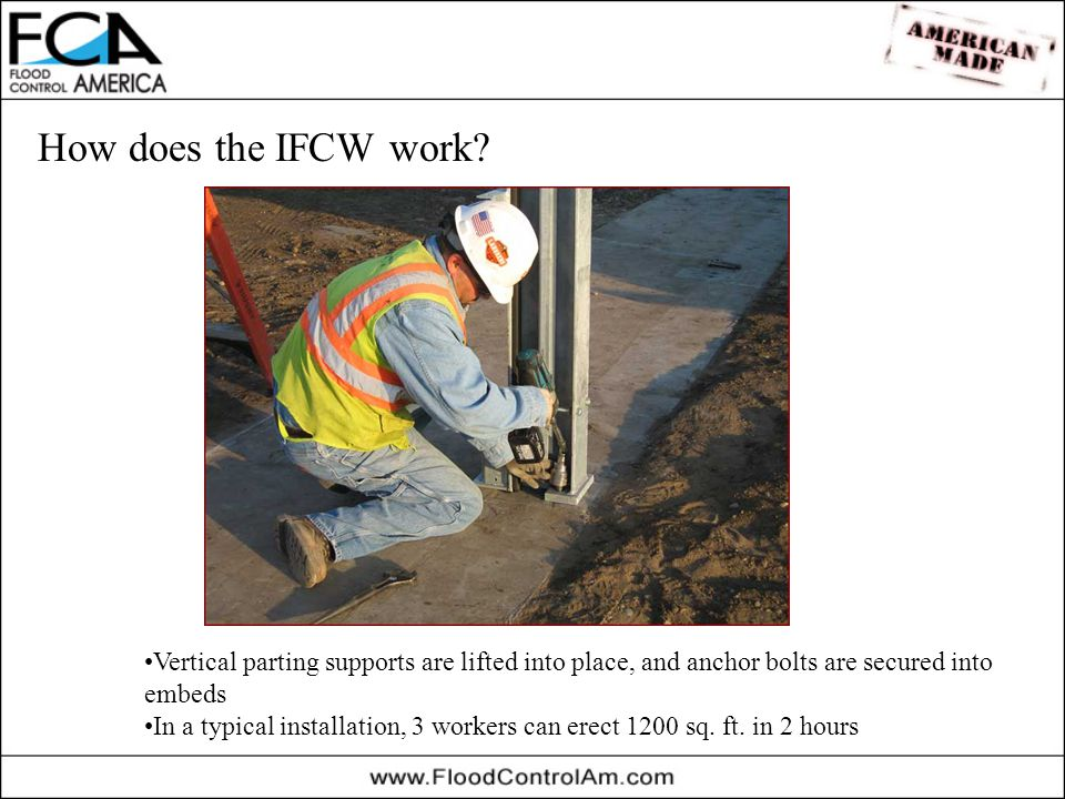 How does the IFCW work.