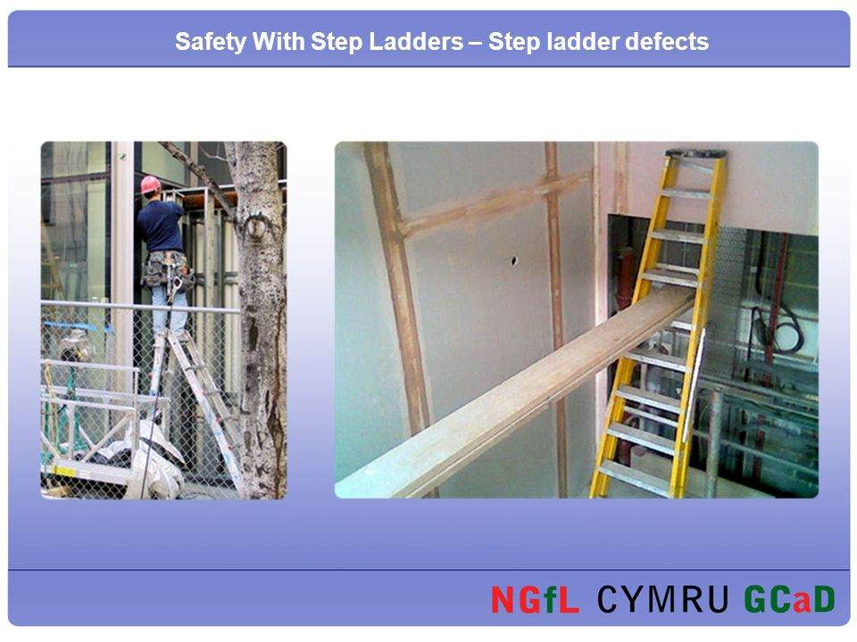 Safety With Step Ladders – Step ladder defects