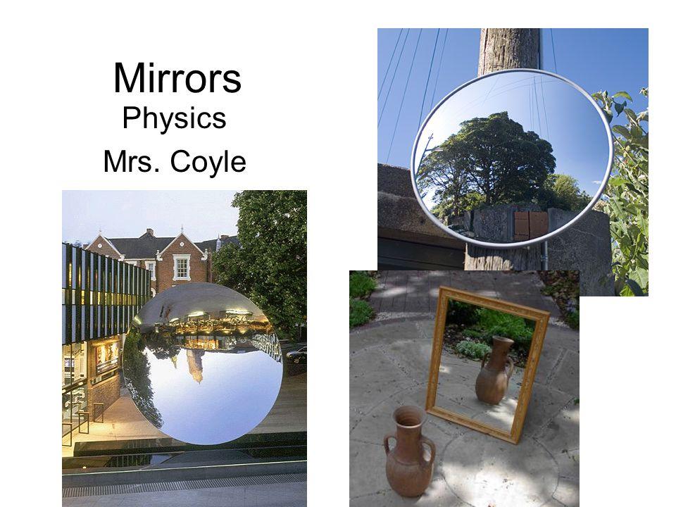 Mirrors Physics Mrs. Coyle